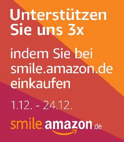 Clever Spenden e.V. per Einkauf auf smile.amazon.de mit 1,5% des Einkaufspreises unterstützen